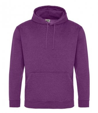 AWDis Hoods Washed hoodie heren paars
