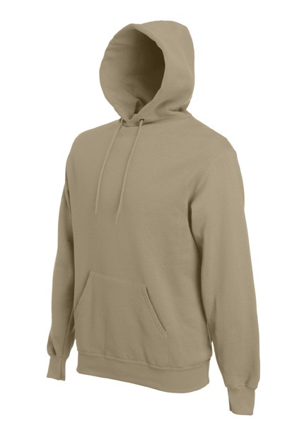 Fruit of the Loom Hooded Sweater SC244C Khaki