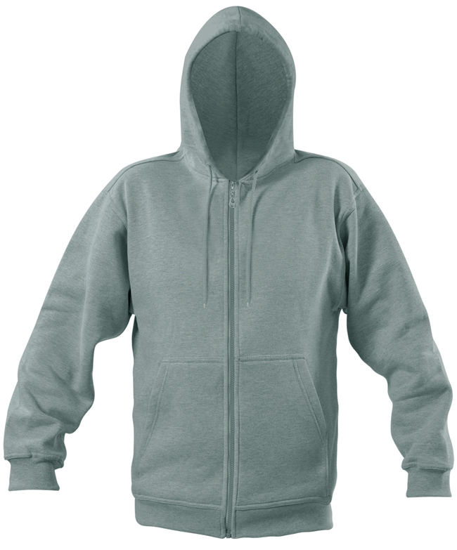 Starworld Full Zip Hoodie Sport Grey