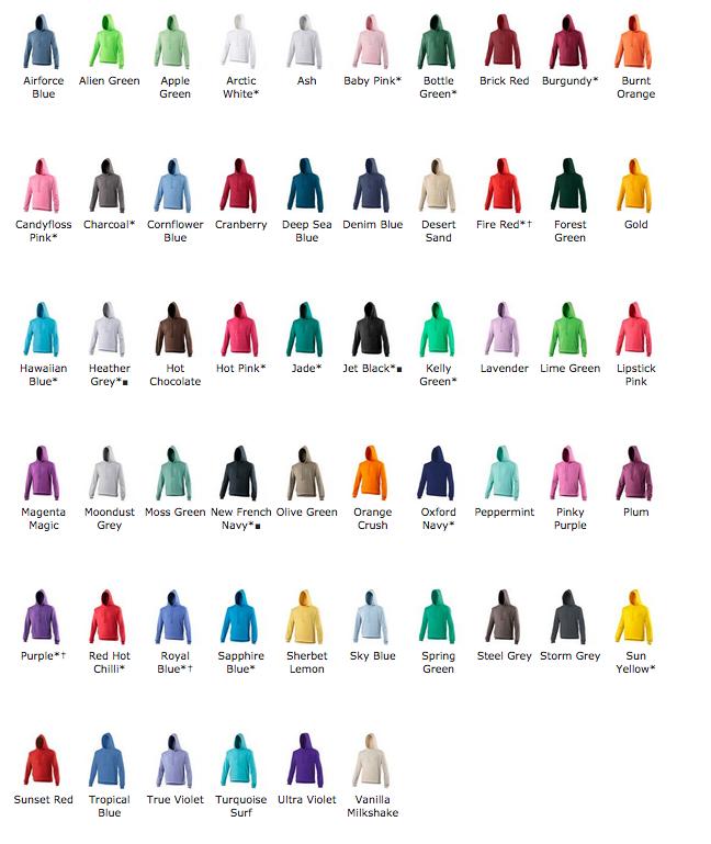 AWDis Hoods College hoodie alle kleuren