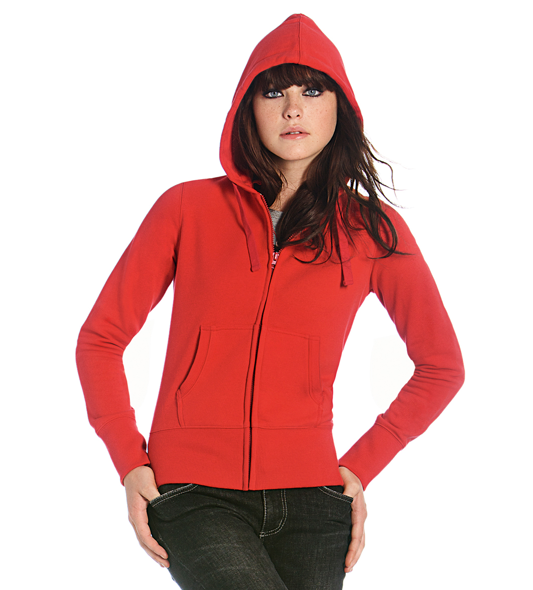 B-C Hooded Full Zip Women Foto