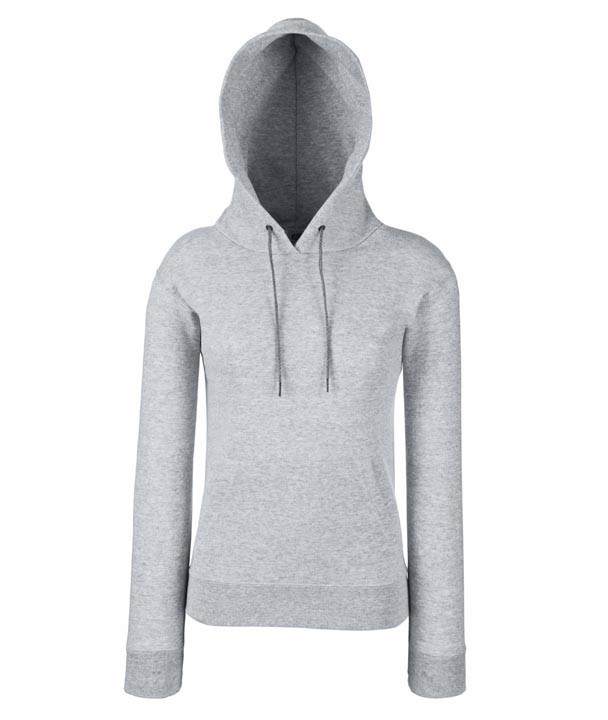 Lady-Fit Hooded 620380 Heather Grey