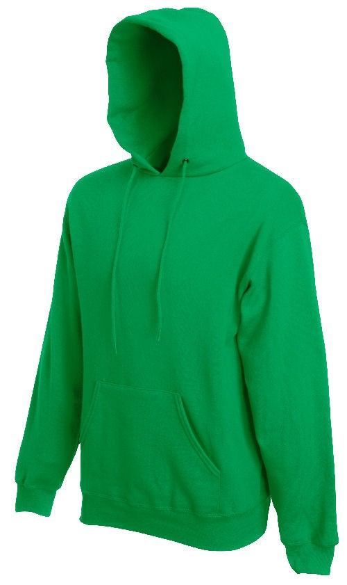 Fruit of the Loom Hooded Sweater SC244C Kelly Green
