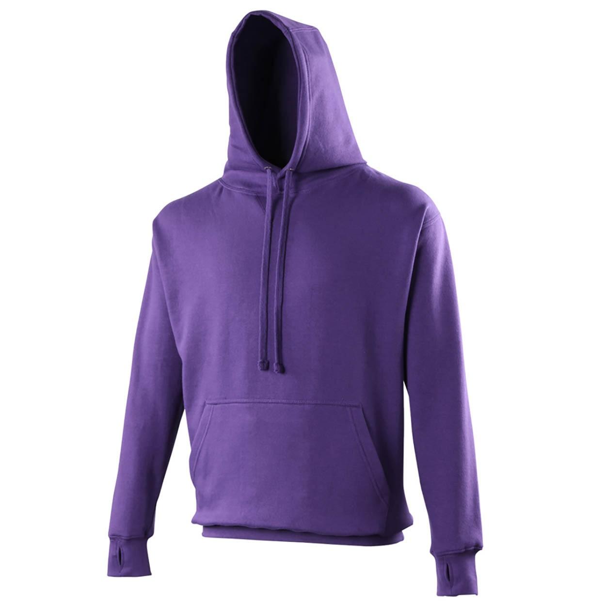 AWDis Hoods Street hoodie heren paars