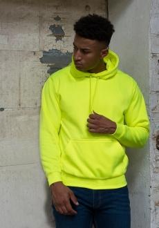 electric hoodie geel