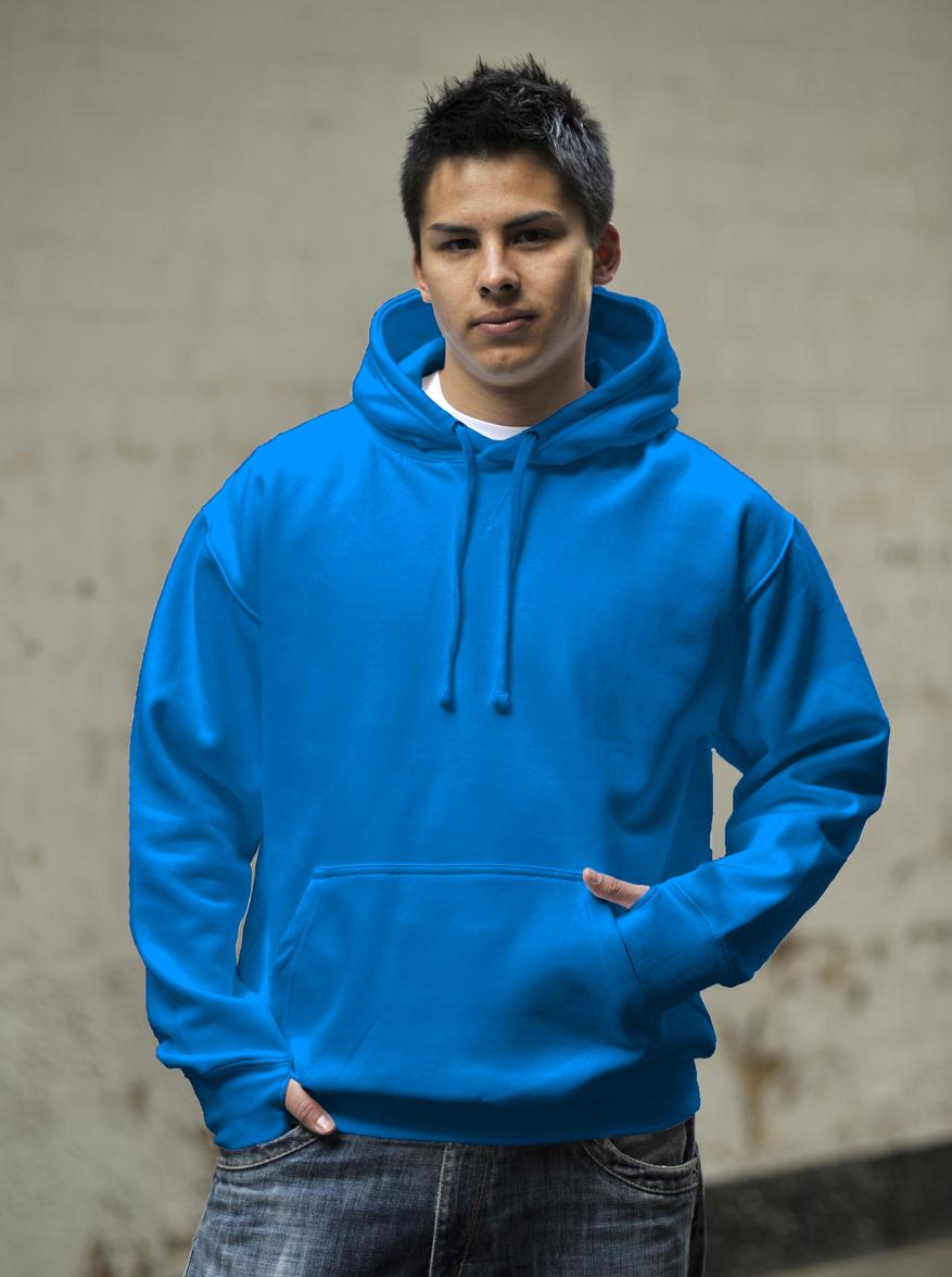 AWDis Street Hoodie Sapphire Blue