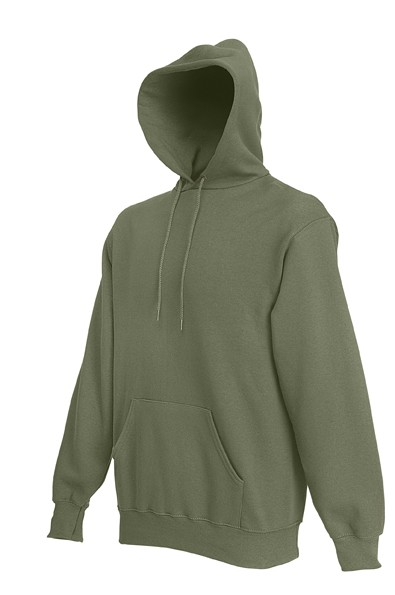 Fruit of the Loom Hooded Sweater SC244C Classic Olive