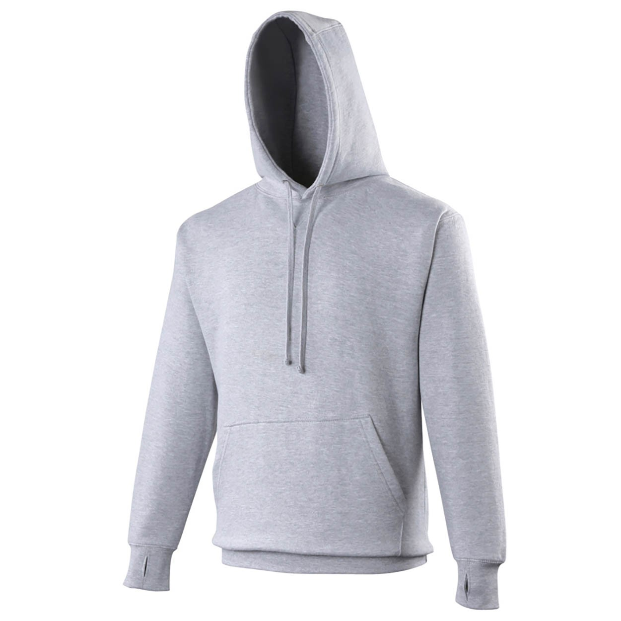 AWDis Hoods Street hoodie heren heather grey