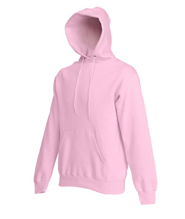 Fruit of the Loom Hooded Sweater SC244C Light Pink