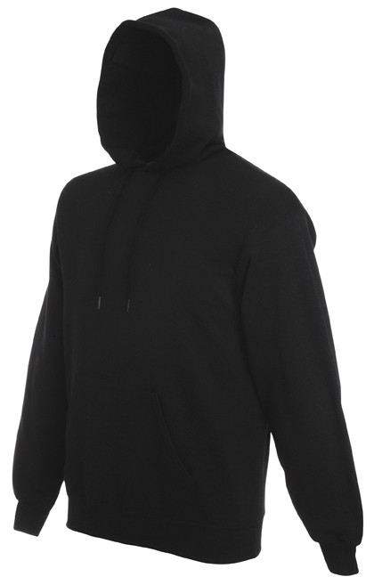 Fruit of the Loom Hooded Sweater SC244C Black