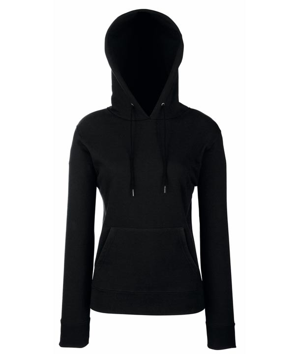 Lady-Fit Hooded 620380 Black