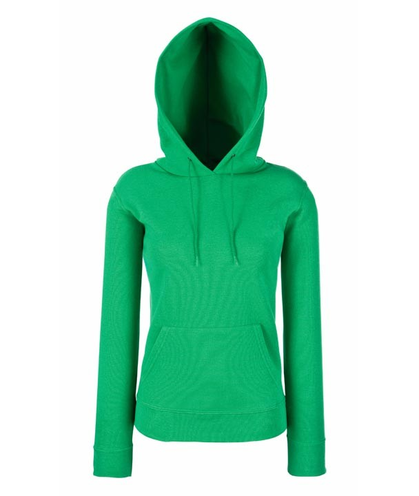Lady-Fit Hooded 620380 Kelly Green