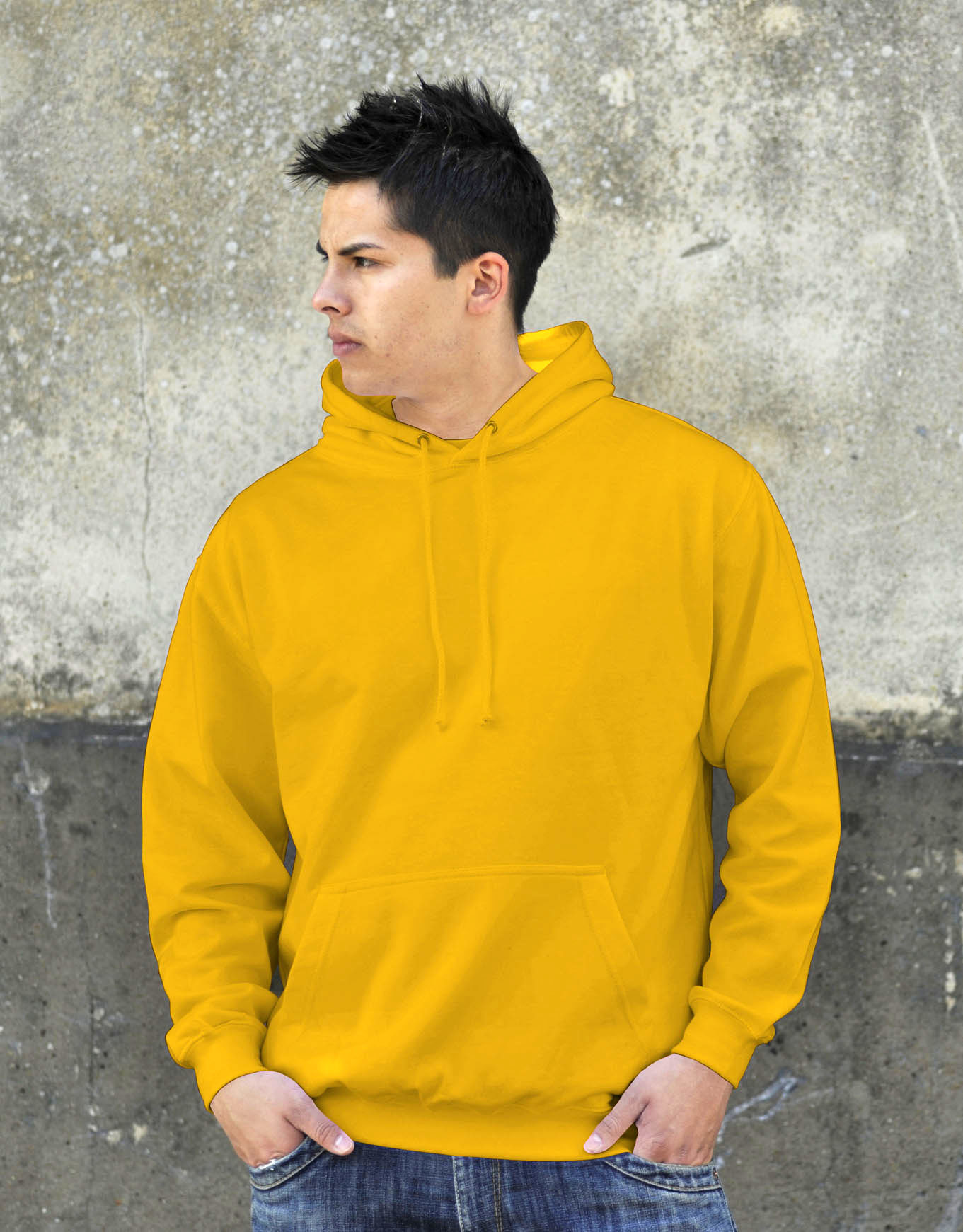 AWDis College Hoodie Gold