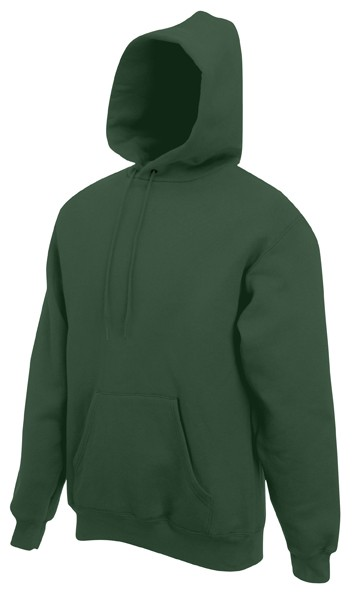 Fruit of the Loom Hooded Sweater SC244C Bottle Green