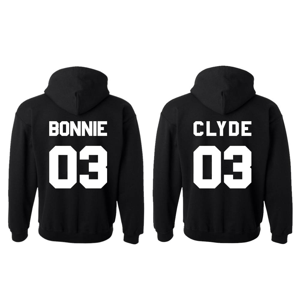 Bonnie & Clyde hoodie