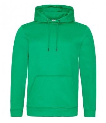 AWDis Hoods Sports polyester hoodie groen