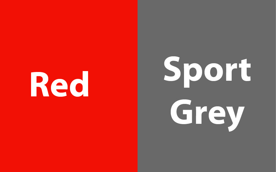 GI185C00 Red - Sport Grey