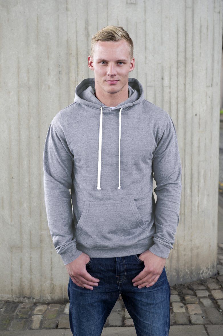 AWDis Heather Hoodie Grey Heather