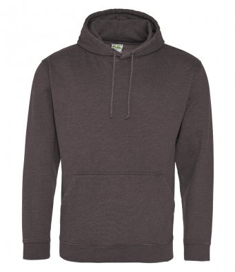 AWDis Hoods Washed hoodie heren charcoal
