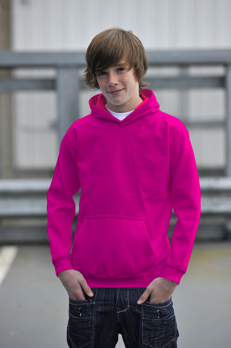 AWDis JH03J Candyfloss Pink - Hot Pink