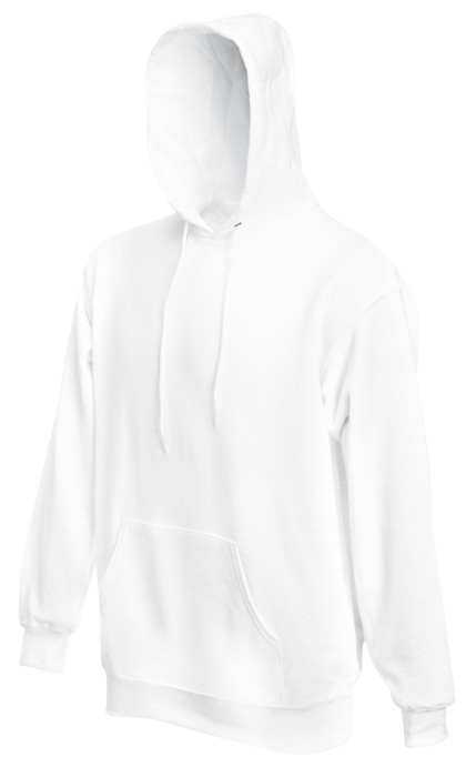 Fruit of the Loom Hooded Sweater SC244C White