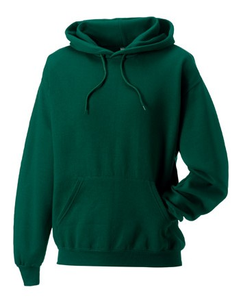 Russell Hoodie Sweater 9575M Bottle Green