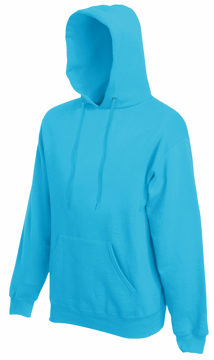 Fruit of the Loom Hooded Sweater Azure Blue