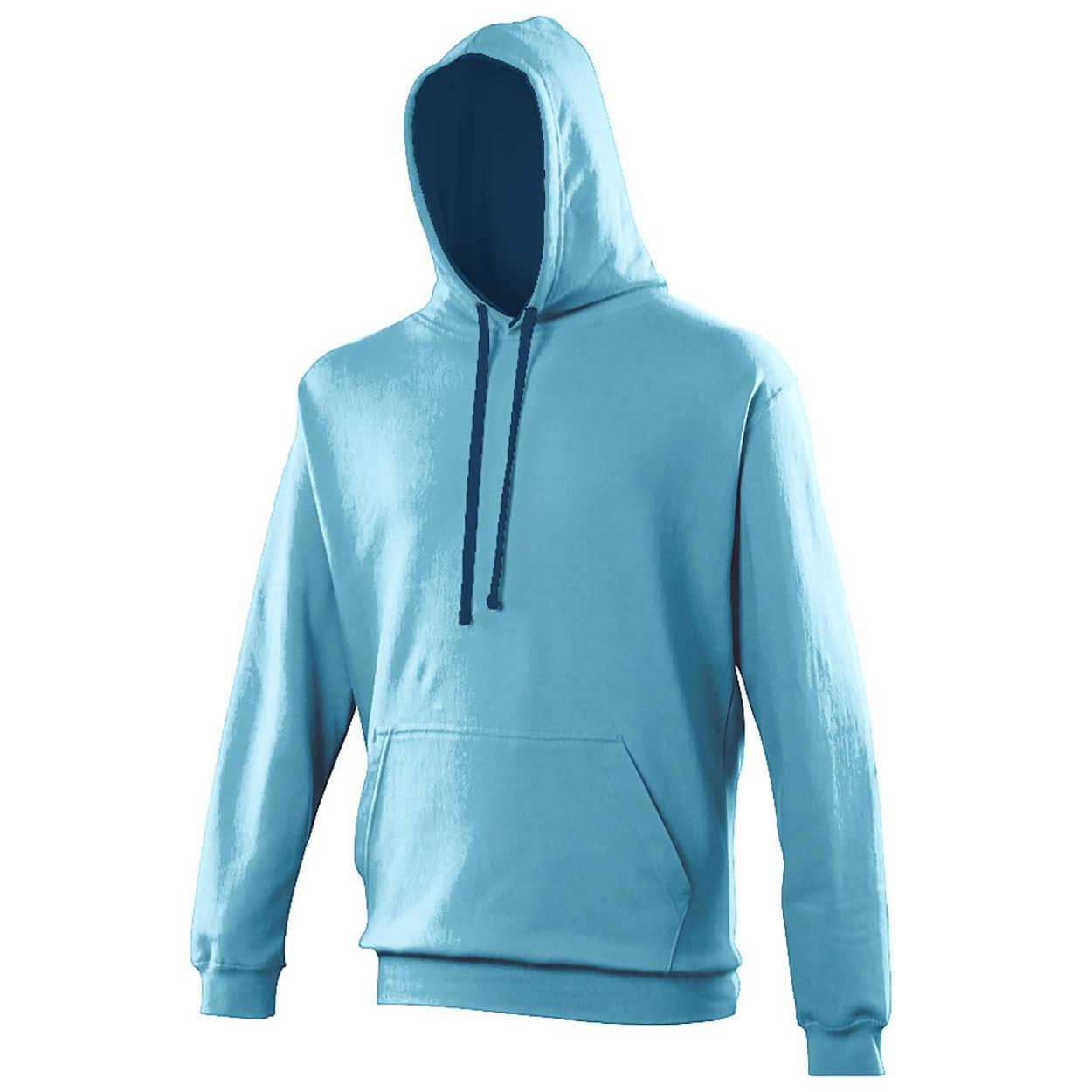 AWDis Hoods Varsity hoodie heren Blauw