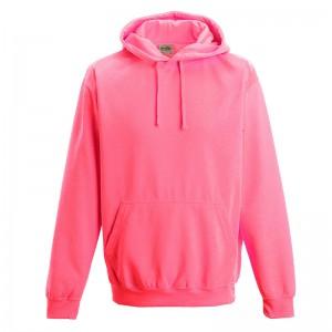 elctric hoodie pink
