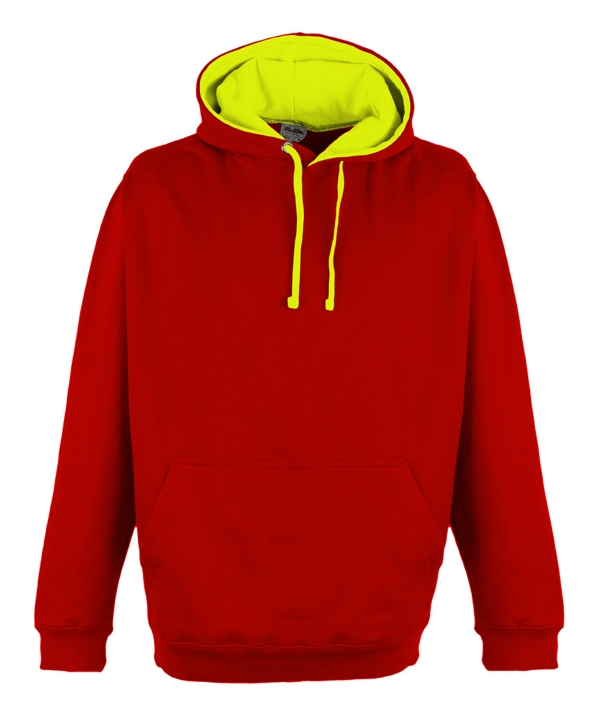 JH013 Fire Red - Electric Yellow