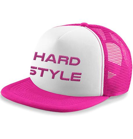 hardstyle cap roze snapback