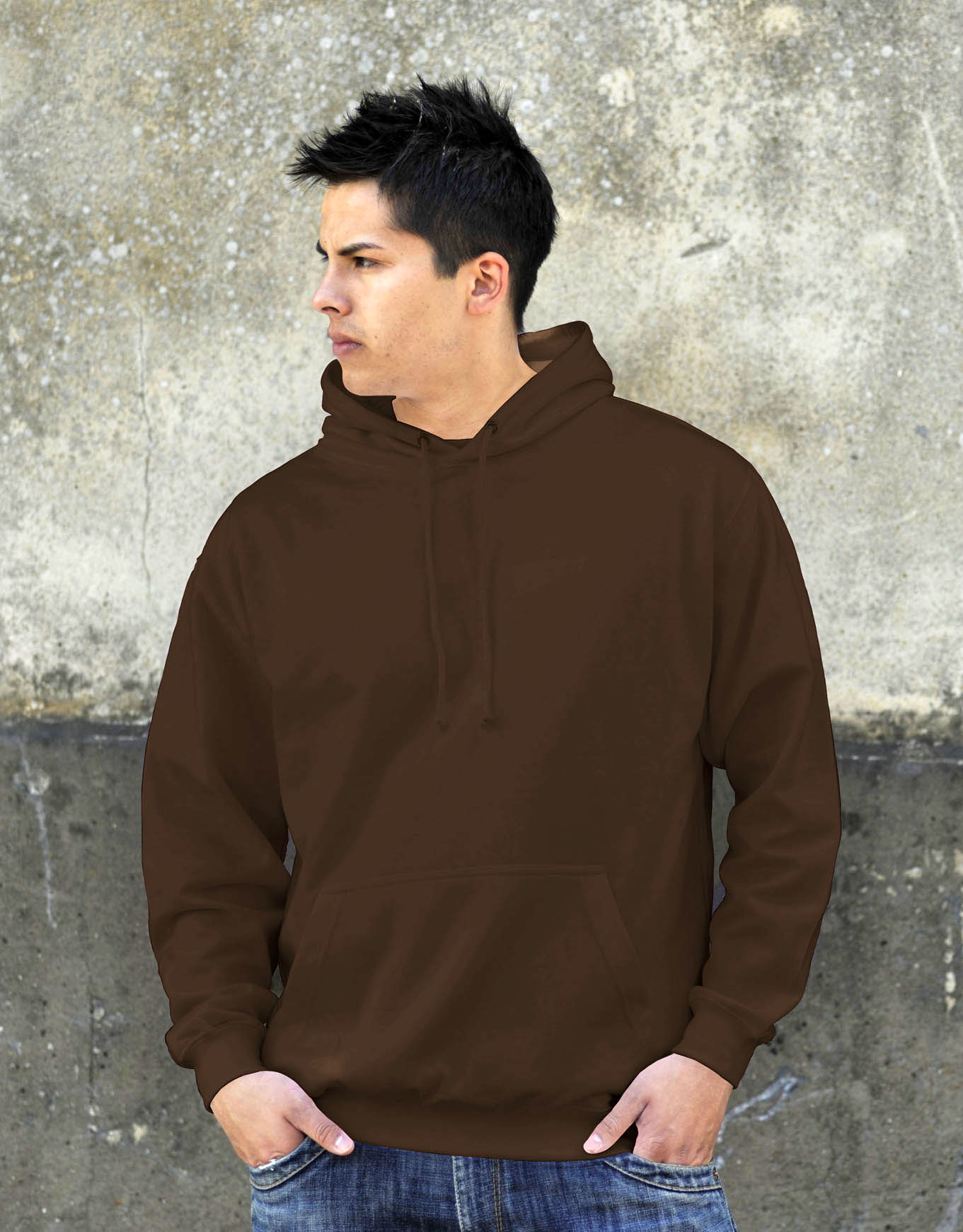 AWDis College Hoodie Hot Chocolate