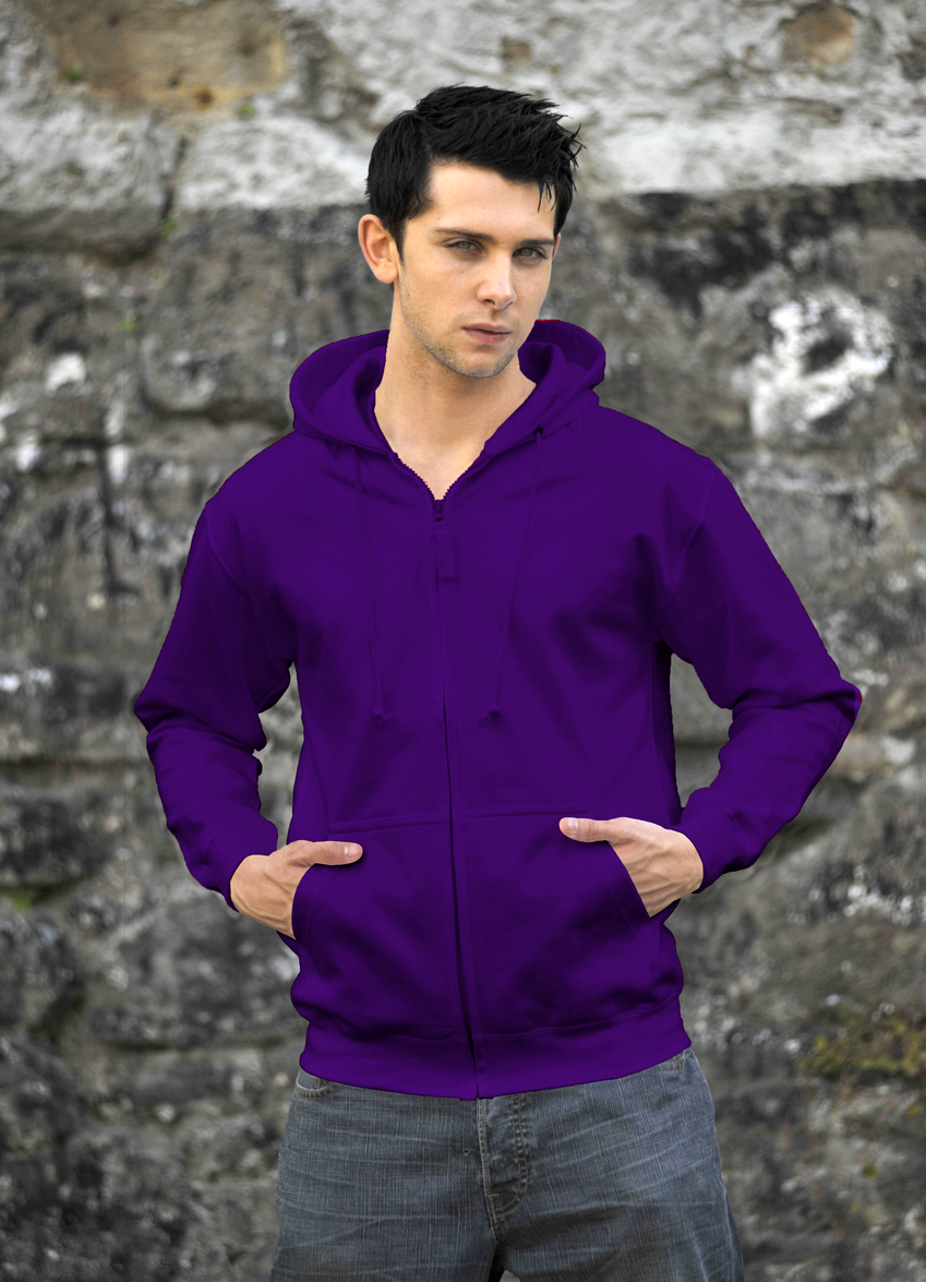 AWDis Zoodie Purple