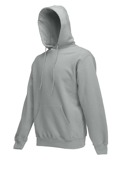 Fruit of the Loom Hooded Sweater SC244C Heather Grey