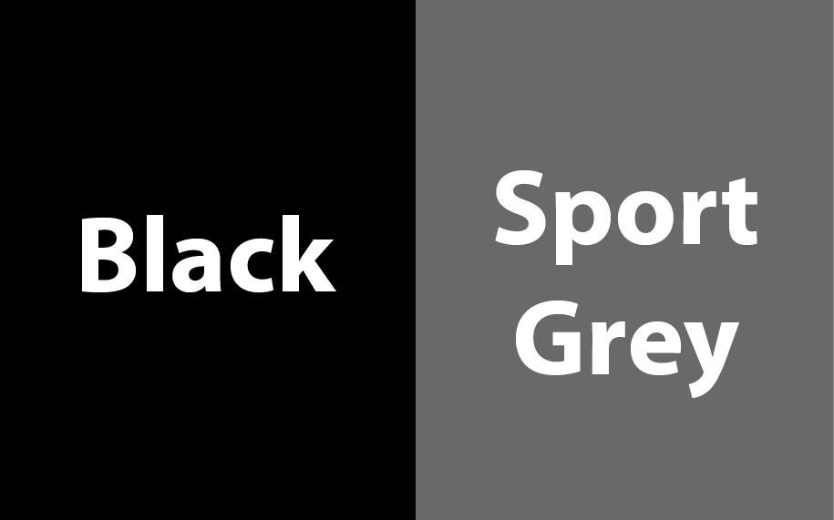 GI185C00 Black - Sport Grey