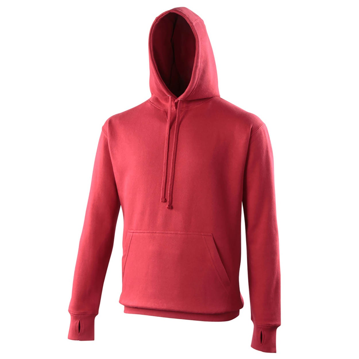 AWDis Hoods Street hoodie heren red hot chilli