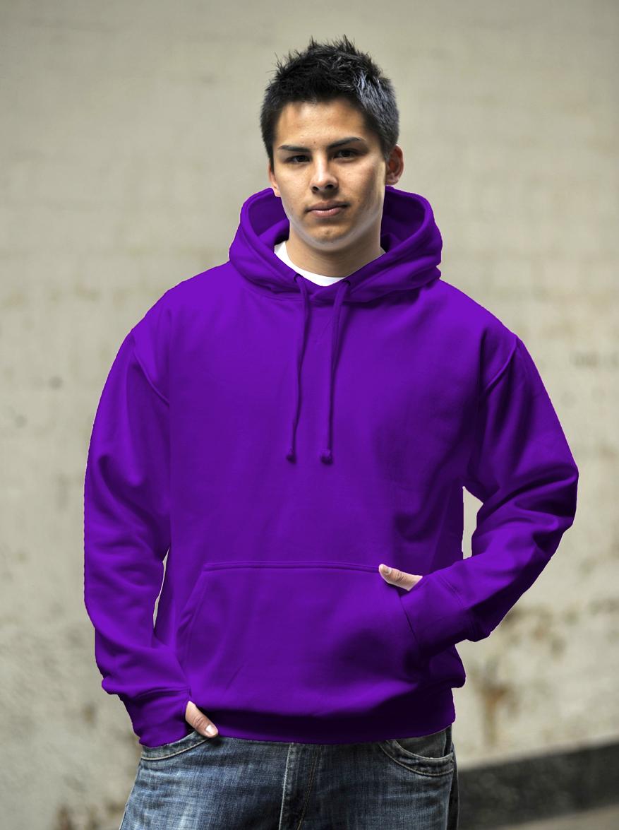 AWDis Street Hoodie Purple