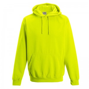 electric hoodie yellow