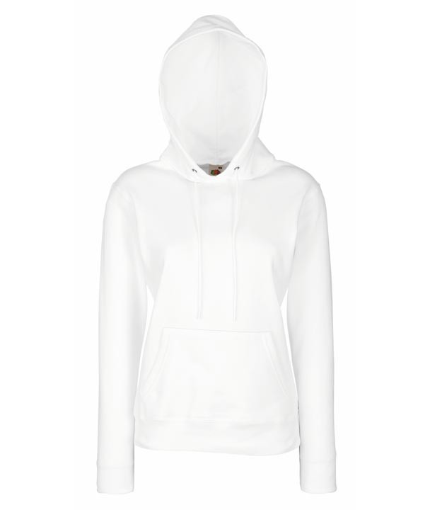 Lady-Fit Hooded 620380 White