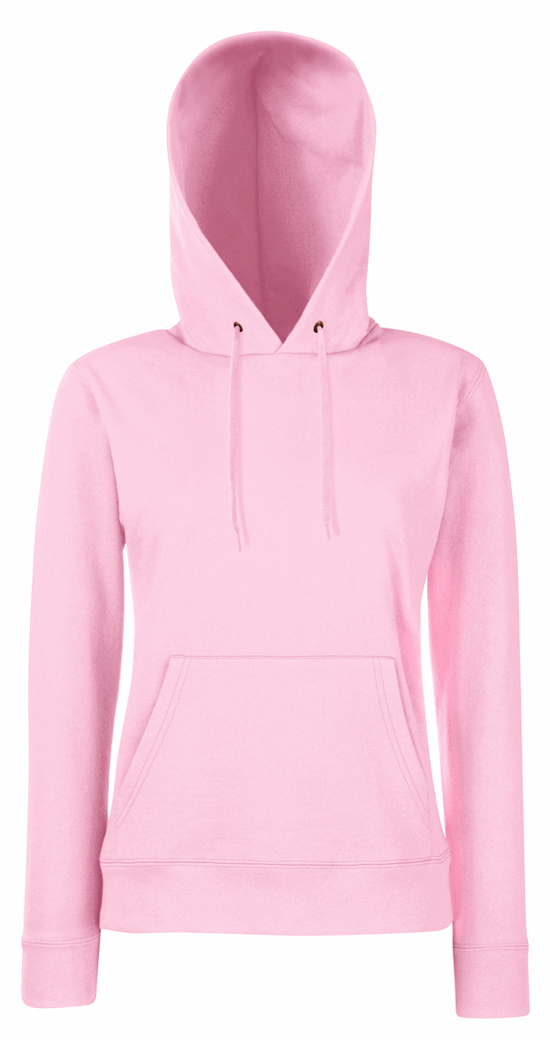 Lady Fit Hooded Light Pink
