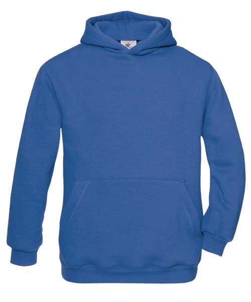 B-C Hooded Kids Sweat Royal Blue