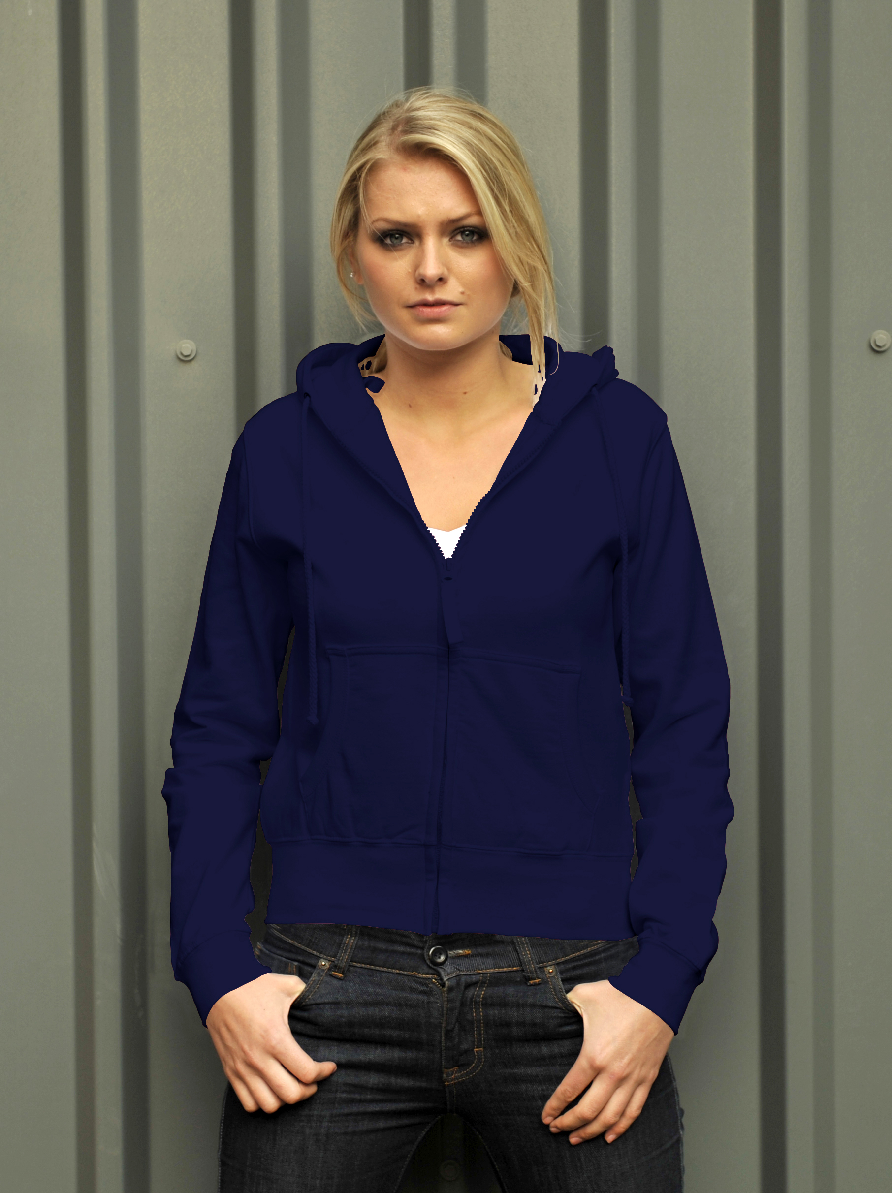 AWDis Girlie Zoodie French Navy