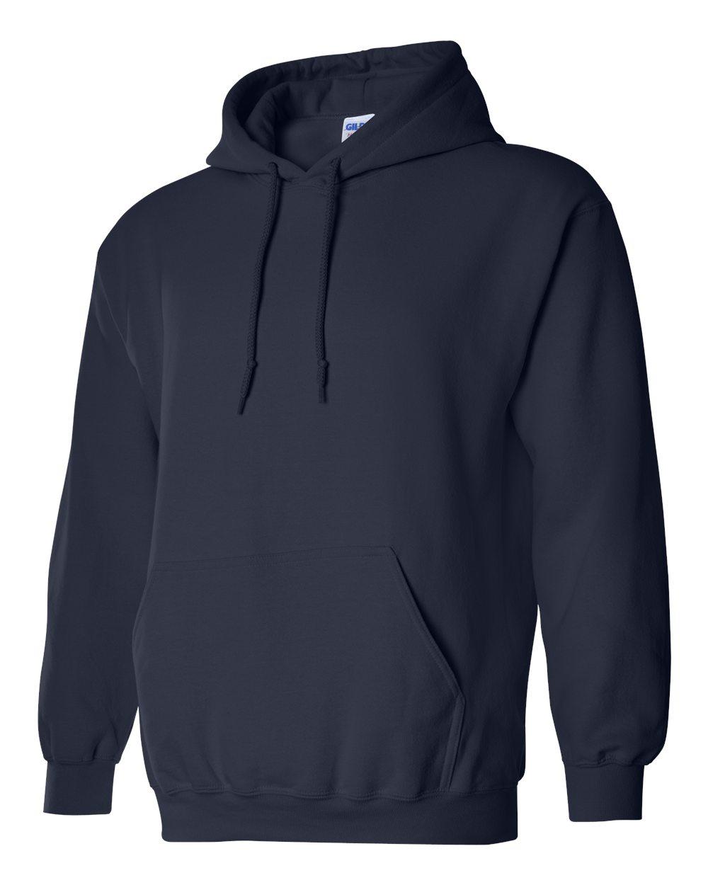 Gildan Heavy Blend Hooded Sweatshirt GI18500 Navy