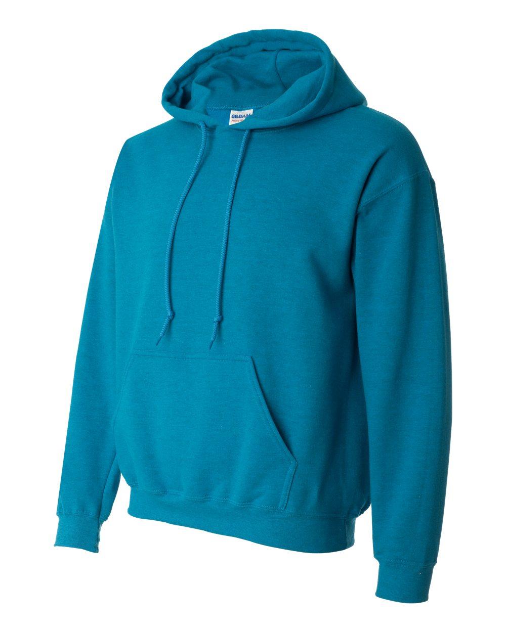 Gildan Heavy Blend Hooded Sweatshirt GI18500 Antique Sapphire Blue
