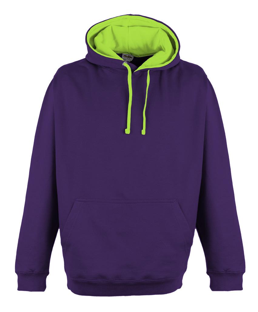 JH013 Purple - Electric Green