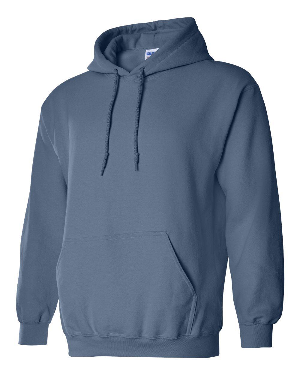 Gildan Heavy Blend Hooded Sweatshirt GI18500 Indigo Blue