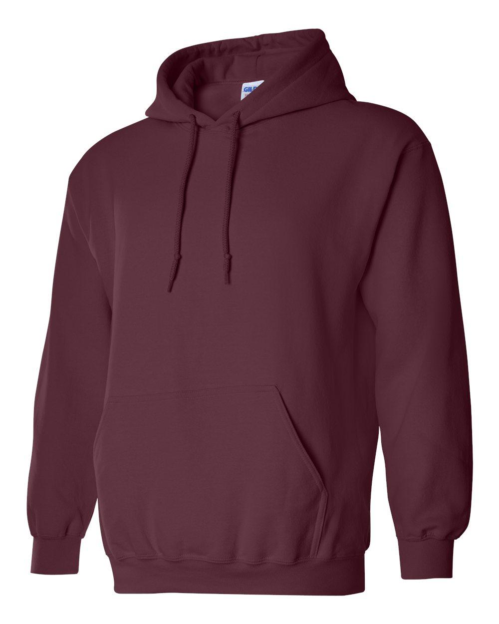 Gildan Heavy Blend Hooded Sweatshirt GI18500 Maroon