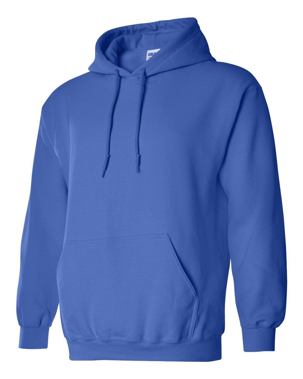 Gildan Heavy Blend Hooded Sweatshirt GI18500 Royal Blue