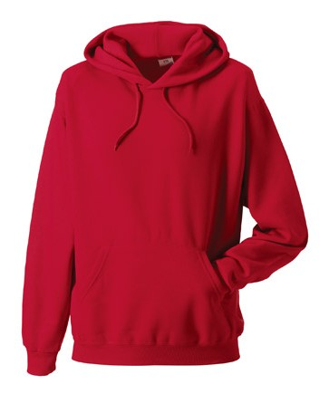 Russell Hoodie Sweater 9575M Classic Red