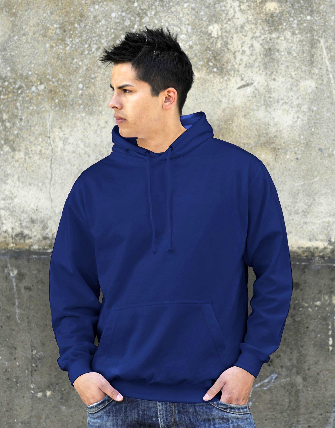 AWDis College Hoodie Royal Blue